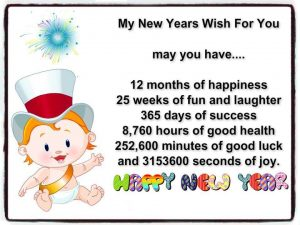 My new year wish for you…