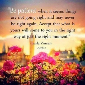 Inspirational quotes - when it seems things are not going right