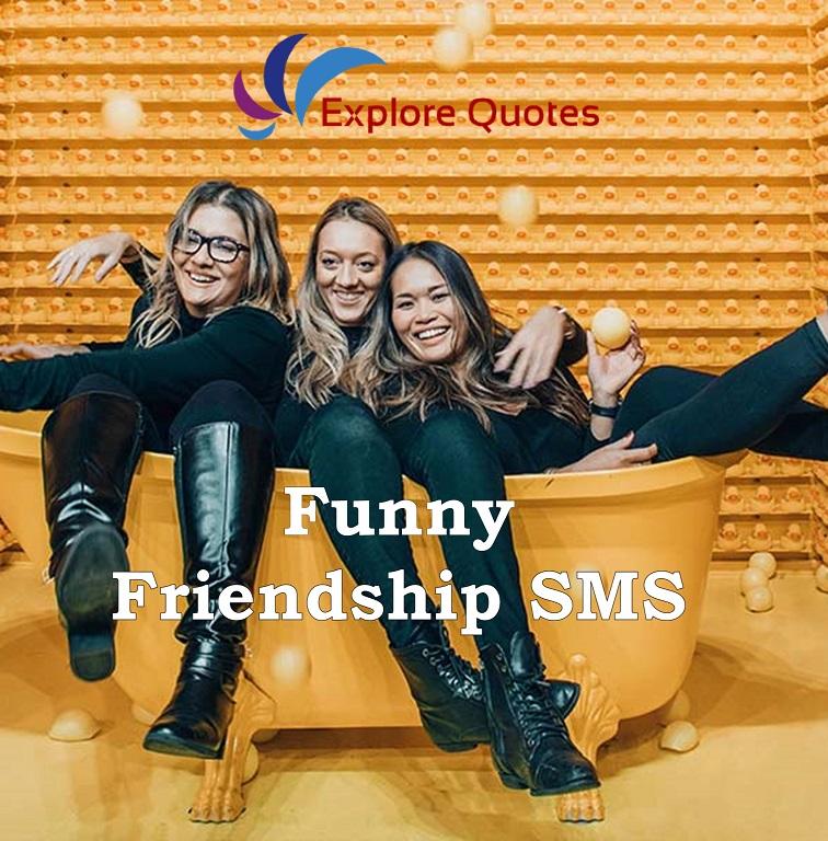 Funny Friendship SMS