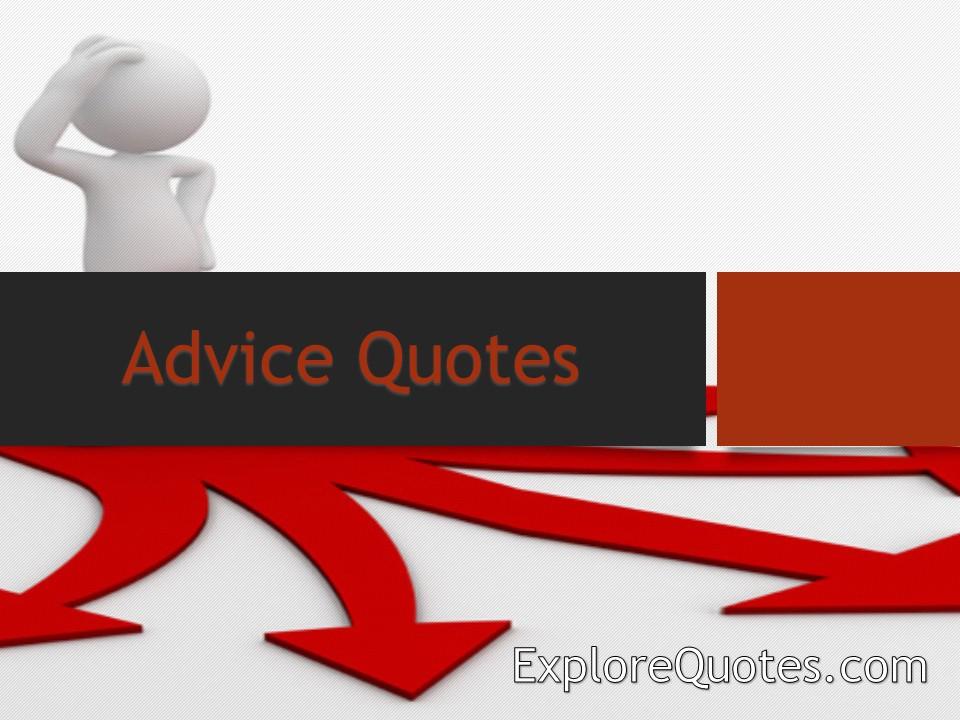 An Advice