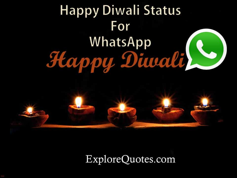 Happy Diwali Status For Whatsapp