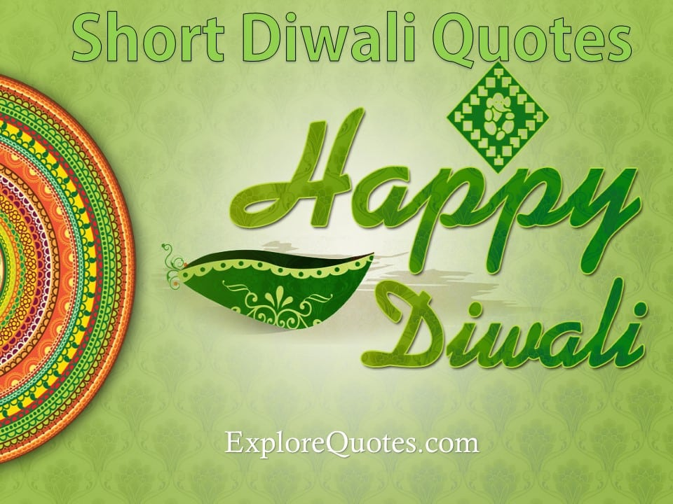Short Diwali SMS Quotes